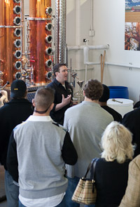 Tour the Distillery